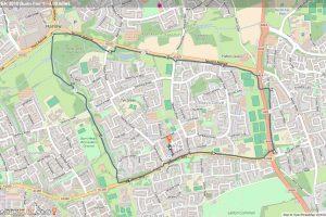 Harlow Cycle Map