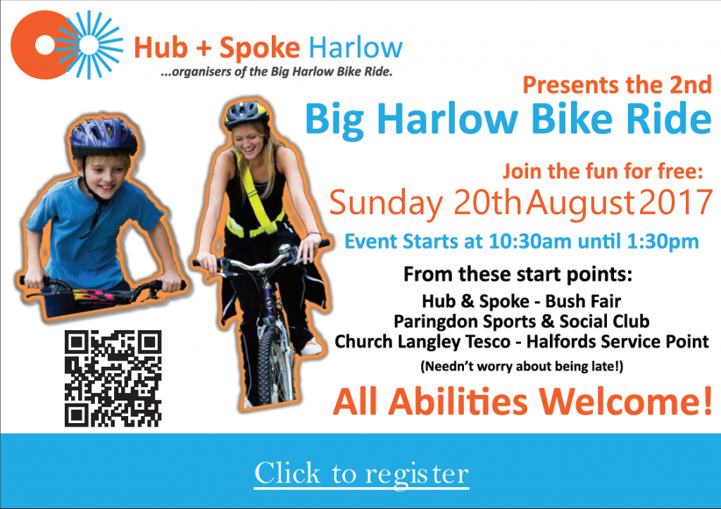Welcome to Hub + Spoke Harlow